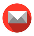 flat icon design of mail mail icon e-mail vector image