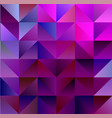 geometric magenta and cyan backdrop with triangles vector image
