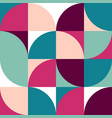 geometric simple colored seamless pattern vector image vector image