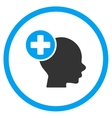Head Treatment Rounded Icon vector image vector image