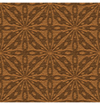 leather ornament vector image vector image