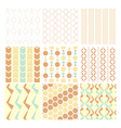 seamless pattern and wallpaper vector image