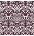 Vintage lace ornament pattern vector image vector image