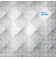 Abstract background Squares white vector image vector image