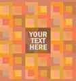 abstract color-block background with place for tex vector image vector image