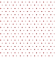 background of red dots isolated icon design vector image