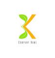 bk logo vector image vector image