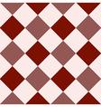Crimson Red Fiesta White Diamond Chessboard vector image vector image