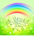 fantastic for saint patricks day vector image