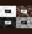 luxury banner background vector image