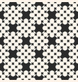 monochrome seamless pattern with crosses vector image vector image
