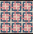 seamless pattern of square elements vector image