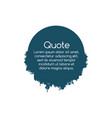 simplicity quote geometric circle shape with vector image