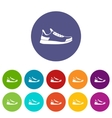 Sneaker set icons