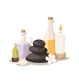 Spa symbols vector image