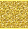 beautiful festive seamless gold texture vector image