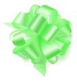 big bow made of ribbon vector image
