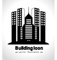 building icon design vector image vector image