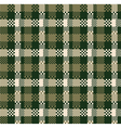 Digital plaid vector image