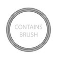 frame spring contains brush design element vector image