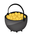 money kettle vector image vector image