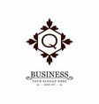 alphabetic logo design with elegent design and vector image