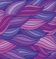 bright color pattern of the waves vector image vector image