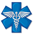 Caduceus medical symbol vector | Price: 1 Credit (USD $1)