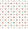 christmas pattern design background vector image vector image