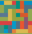 colorful brick seamless pattern abstract retro vector image