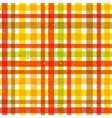 Hand drawn tartan colorful seamless pattern vector image