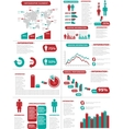 INFOGRAPHIC DEMOGRAPHICS NEW STYLE vector image vector image