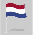Netherlands flag Official national symbol of vector image