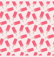 popsicle seamless pattern vector image