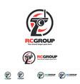 radio control vehicle group logo vector image vector image