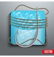 Realistic fishing hook vector image vector image
