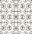 seamless pattern repeating modern stylish vector image