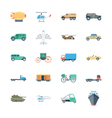 Transports Colored Icons 5 vector image vector image