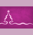 Violet Christmas Background vector image vector image