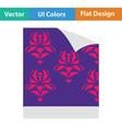 Wallpaper icon vector image