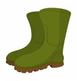 Boots cartoon icon vector image vector image