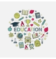 Education set vector image vector image