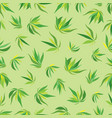 leaves pattern 1 vector image vector image