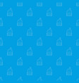 oven pattern seamless blue vector image vector image