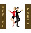 Office party concept vector image