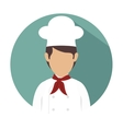 chef kitchen design vector image vector image
