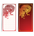 Chinese dragon Banner 2 vector image