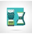 Coffee break flat icon vector image vector image