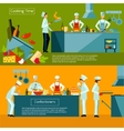 Cooking Banner Set vector image vector image