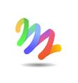 Creative Agency Logo Icon Template vector image vector image